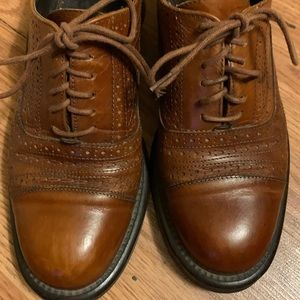 Joan and David Leather Oxford Loafers